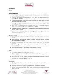 Download menu in PDF