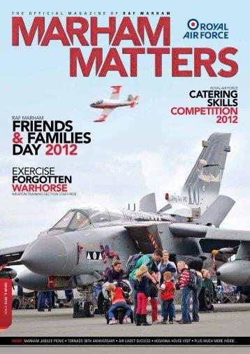 FRIENDS & FAMILIES DAY 2012 - Marham Matters Online