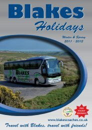 Travel with Blakes, travel with friends! - Blakes Coaches