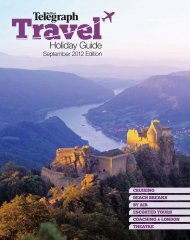download brochure - The Independent Travel Reader Offers - The ...