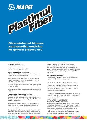 Plastimul Fiber Plastimul Fiber - Mapei