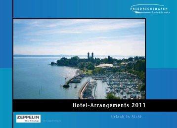 Hotel-Arrangements 2011 - Friedrichshafen