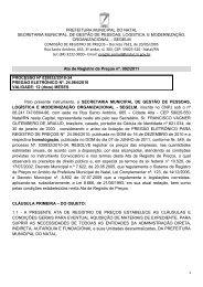 Ata 002/2011 - Portal de Compras - Prefeitura Municipal de Natal