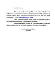 Resumo - Portal de Compras - Prefeitura Municipal de Natal
