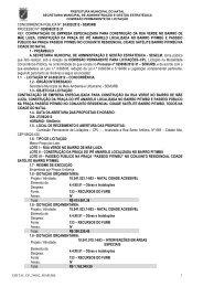Edital - Portal de Compras - Prefeitura Municipal de Natal