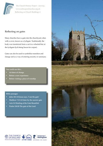 4. Gates - Southwell and Nottingham Church History Project
