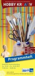 3. HOBBY KREATIV 2012 - Veranstaltungszentrum ...