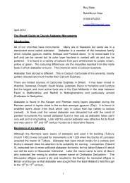 Alabaster (PDF of handout) - Southwell and Nottingham Church ...