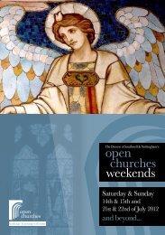 open churches weekends