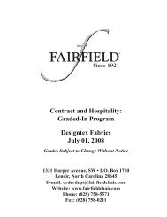 Contract and Hospitality Graded-In Program Designtex Fabrics July 01 2008