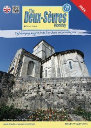 What's On... May 2013 - The Deux-Sevres Monthly