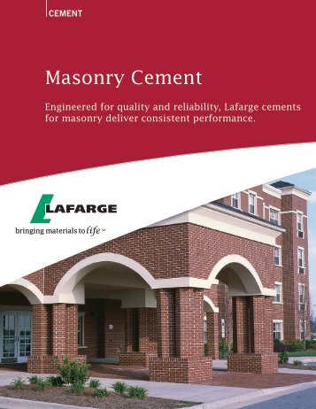 Masonry Cement