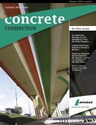 Concrete Connection Issue 7 - Lafarge