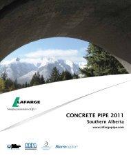 concrete pipe 2011