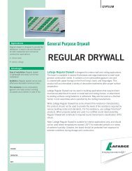 regular drywall