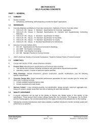 SECTION 03315 SELF-PLACING CONCRETE PART 1 - GENERAL