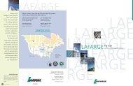 LAF LAFARGE LAFARGE LAFARGE RGE