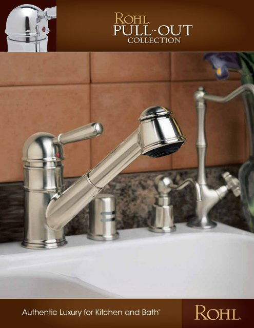 Rohl Pull Out Kitchen Faucets Ebuild