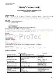 Sikaflex Construction (D)