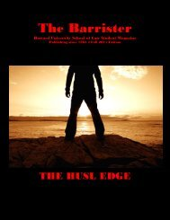 The Barrister - Get a Free Blog