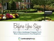 Download the Free Guide - Landscaping Network