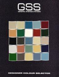 Colour Chart - Final.pdf - General Storage Systems