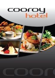 Full Menu - Cooroy Hotel