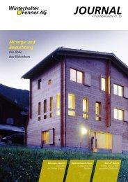 Minergie und Beleuchtung - Winterhalter + Fenner AG