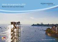 Hotel-Arrangements 2012 - Friedrichshafen