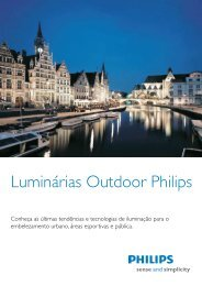Luminárias Outdoor Philips