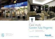 Case study Golden Tulip Regente - Philips