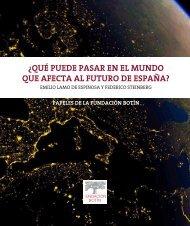 ¿QUÉ PUEDE PASAR EN EL MUNDO QUE AFECTA AL FUTURO DE ESPAÑA?