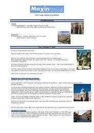 POST TOUR VIENNA & BUDAPEST ACCOMMODATION VIENNA 3 ...