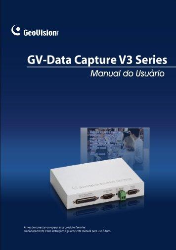 GV-Data Capture V3 Series