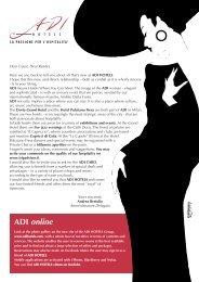 newsletter inglese - Gruppo Adi Hotels