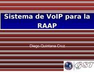 Sistema de VoIP para la RAAP