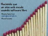 Haciendo que un sitio web escale usando software libre.pdf