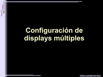 displays múltiples