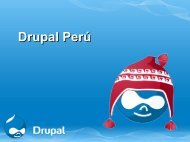 Drupal Perú