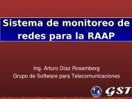 La RAAP y el centro de monitoreo