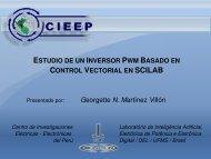 ESTUDIO INVERSOR PWM BASADO CONTROL VECTORIAL SCILAB