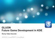 GLUON Future Game Development in KDE