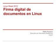 Firma digital de documentos en Linux