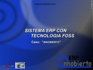 TECNOLOGIA FOSS