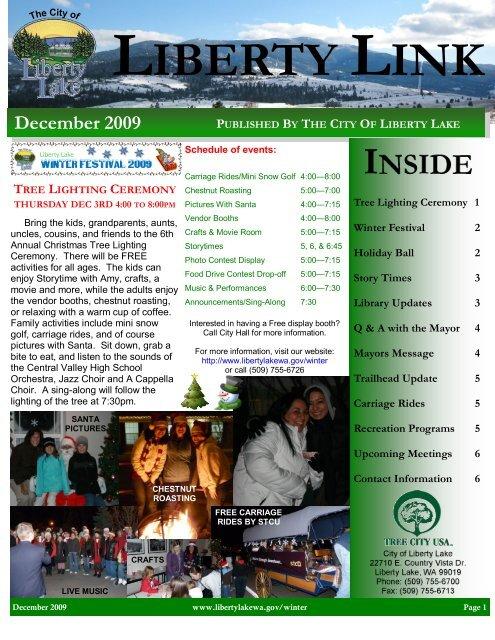 Dec - City of Liberty Lake