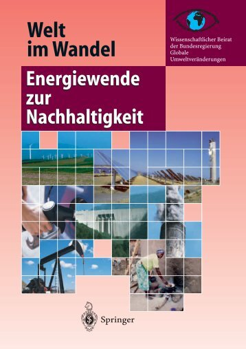 Welt im Wandel: Energiewende zur Nachhaltigkeit - WBGU