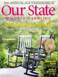 The Hotel Artist, Our State Magazine - O.Henry Hotel