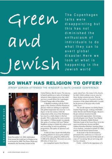 Green and Jewish