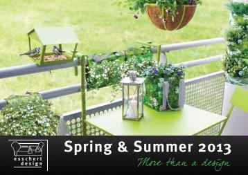 Spring & Summer 2013
