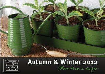 Autumn & Winter 2012
